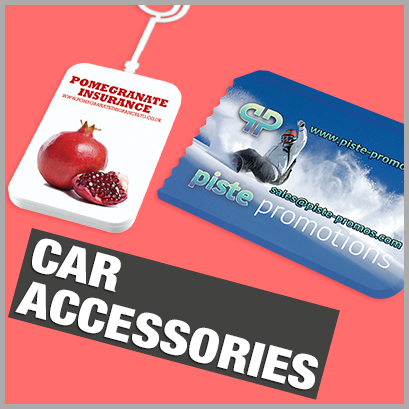 Car Accessories personalised with print
